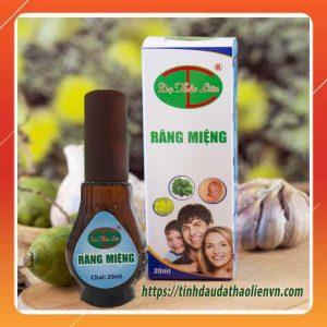 tinh dầu răng miệng dạ thảo liên