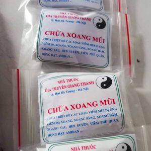 Thuốc chữa viêm xoang gia truyền Giang Thành