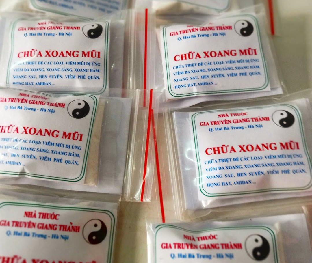 Thuốc xoang gia truyền Giang Thành