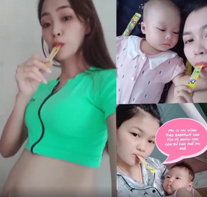 Siro Baby Plus dùng cho mẹ bầu