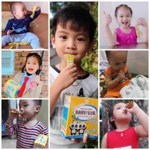 Siro ăn ngon Baby Plus được các bé yêu thích, các mẹ tin dùng.